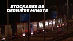 La proximité du Brexit crée cet embouteillage monstre de camions à la