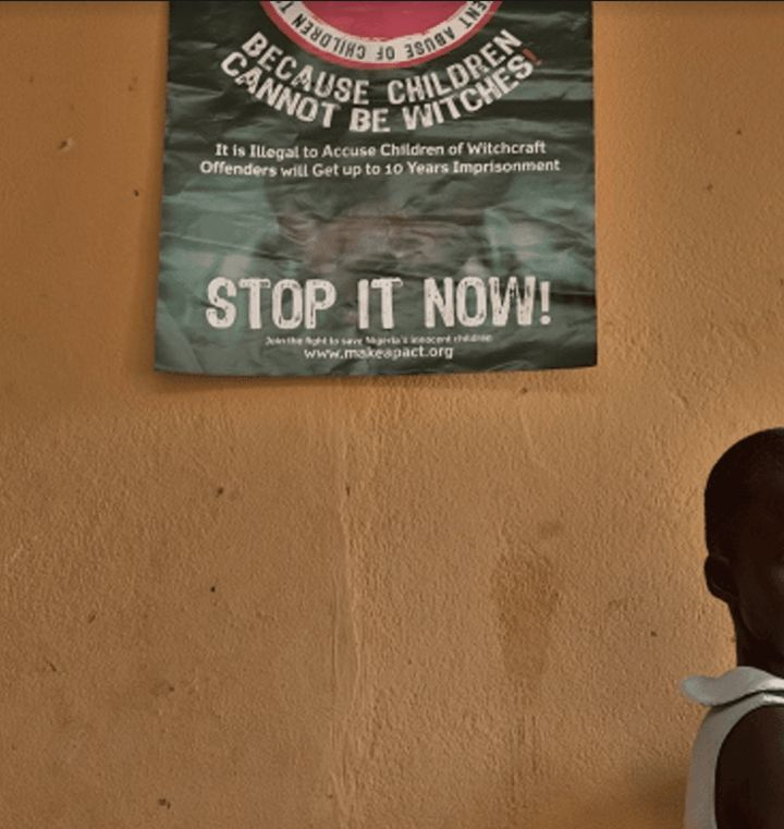 An information campaign in Nigeria photographed by Witchcraft and Human Rights Network executive director Gary Foxcroft while he worked there