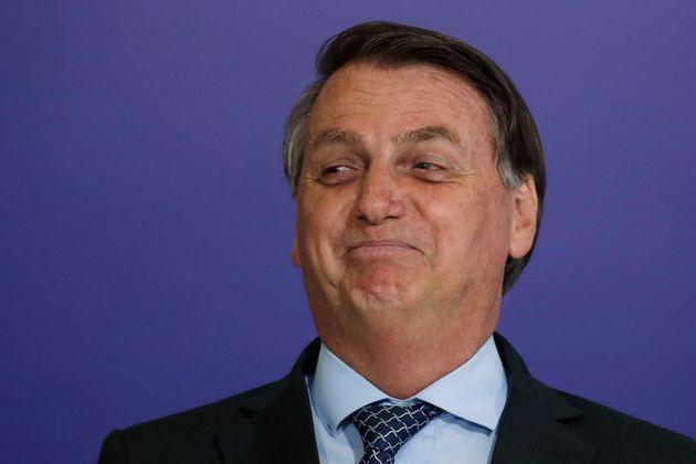 Jair Bolsonaro, presidente brasileño, el 9 de noviembre de 2020 (AP Photo/Eraldo