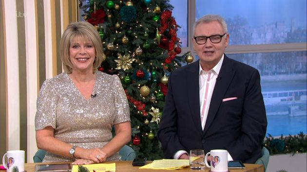Ruth Langsford and Eamonn Holmes hosted their last regular Friday edition of This