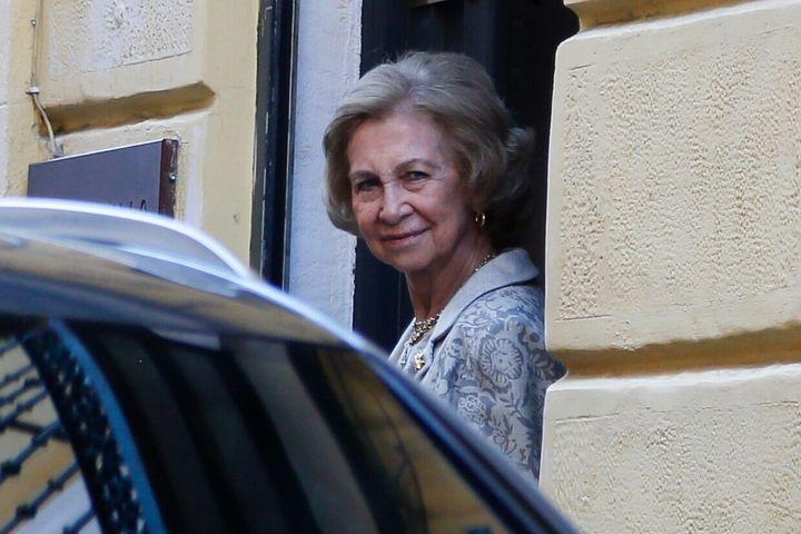 La reina Sofía en octubre de 2019.