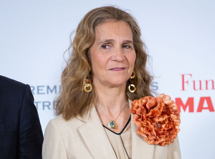 La Infanta Elena en los Premios de la Fundación Mapfre en 2018.