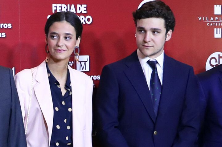 Victoria Federica y Felipe Juan Froilán en la gala de presentación del cartel de la Feria de San Isidro.