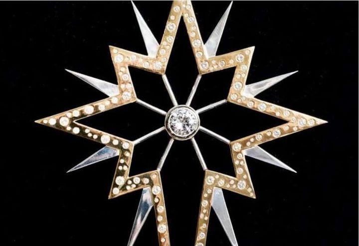 Χριστουγεννιάτικο διαμαντένιο αστέρι