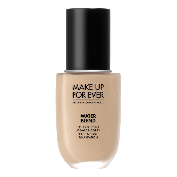 "MAKE UP FOR EVER -&nbsp;Fond de teint visage et corps Water Blend -<a href=""https://www.sephora.com/ca/fr/product/water-blend-face-body-foundation-P410512?om_mmc=ppc-GG_1114819099_53251135672_dsa-45218889073__256817602752_9000386_c&amp;country_switch=ca&amp;lang=fr&amp;gclid=Cj0KCQiAw_H-BRD-ARIsALQE_2NzZ1lNpcipq4Gj2vV6jEl36bw4CTSGd8bDglNj37TRo9et30bcIbMaAo6dEALw_wcB&amp;gclsrc=aw.ds&amp;skuId=1856376"" target=""_blank"" rel=""noopener noreferrer""> 40$</a>"