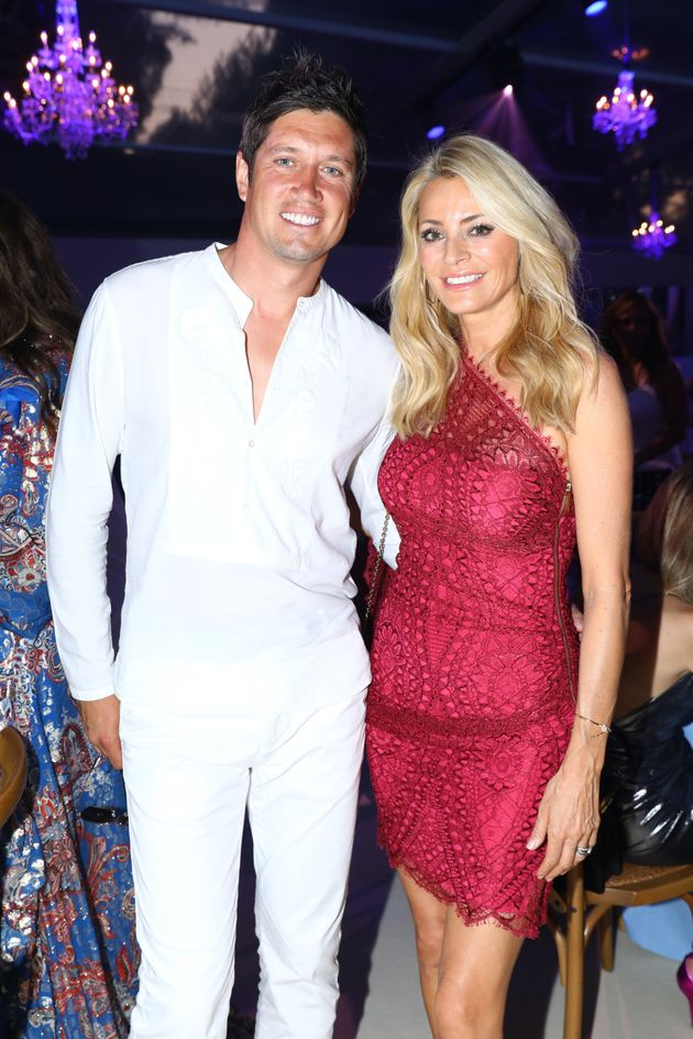Vernon Kay and Tess Daly pictured in
