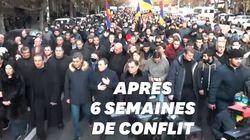 L'Arménie rend hommage aux victimes de la guerre au Haut-Karabagh mais se