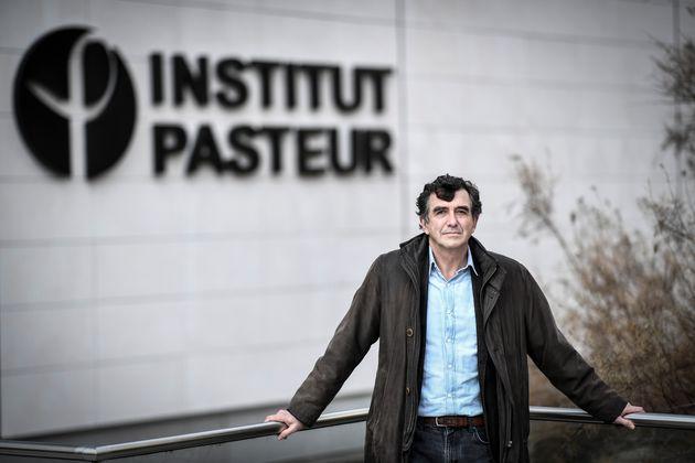L'épidémiologiste Arnaud Fontanet, ici devant l'Institut Pasteur à Paris, le 25...