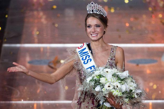 Amandine Petit a été élue Miss France