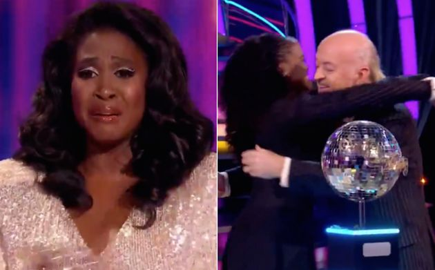 There were plenty of tears during this year's Strictly