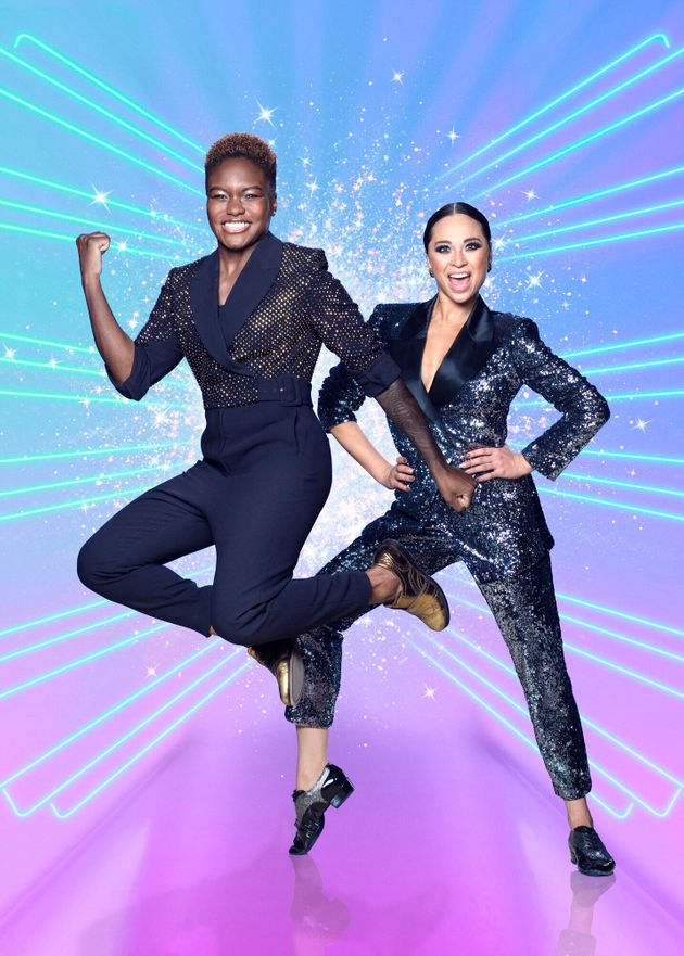 Nicola and Katya in their Strictly publicity