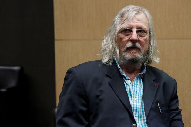Didier Raoult lors de son audition à l'Assemblée nationale le 14