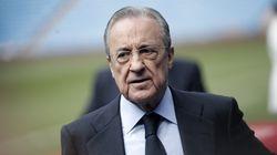 Florentino Pérez se queja del trato de las televisiones: