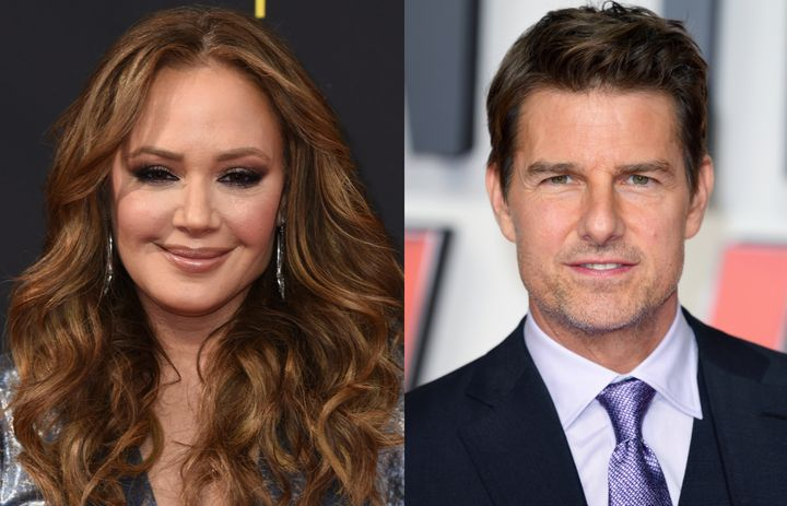 """Leah Remini has slammed Tom Cruise over the leaked audio recording of him yelling at crew members on the set of """"Mission Impossible 7."""""""