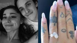 Ariana Grande Announces Engagement To Boyfriend Dalton Gomez With Stunning Diamond
