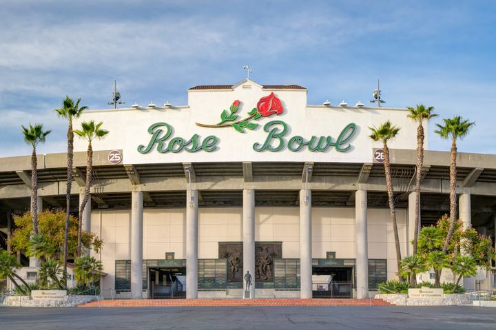 The 2021 College Football Playoff semifinal game scheduled to take place at the Rose Bowl Stadium in Pasadena, California, ha