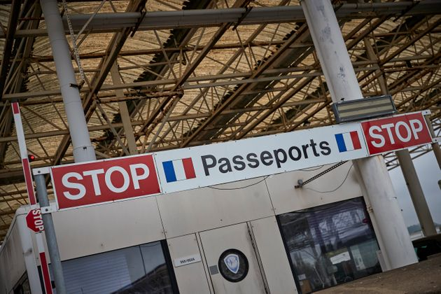 French Passport Control at Folkestone