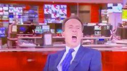 BBC司会者が番組中にあくびで謝罪→「あなたも人間」と寛大なメッセージ続々