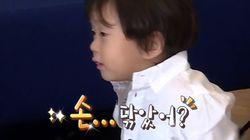 투철한 코로나19 방역 정신을 보여준 4살