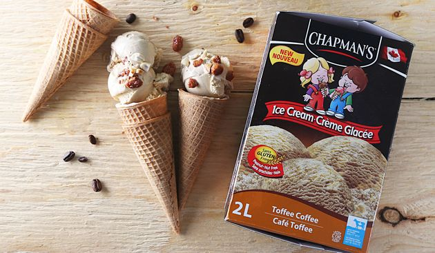 Canadians are sharing their love of Chapman's Ice Cream on social