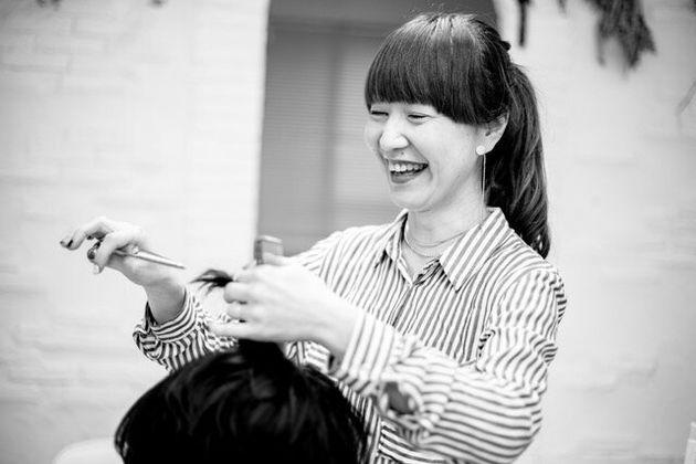 ワークショップに参加した美容師のMISAKIさん。MINT /MINTing