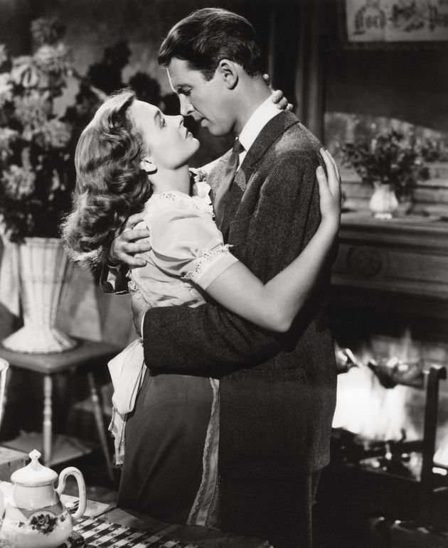 Jimmy Stewart and Donna Reed in It's A Wonderful