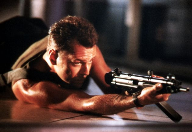 Bruce Willis as seen in the UK's second favourite Christmas film