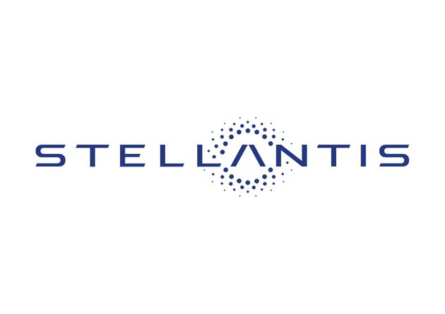 The logo of Stellantis is seen in this image provided on November 9, 2020. Communication FCA /Handout...
