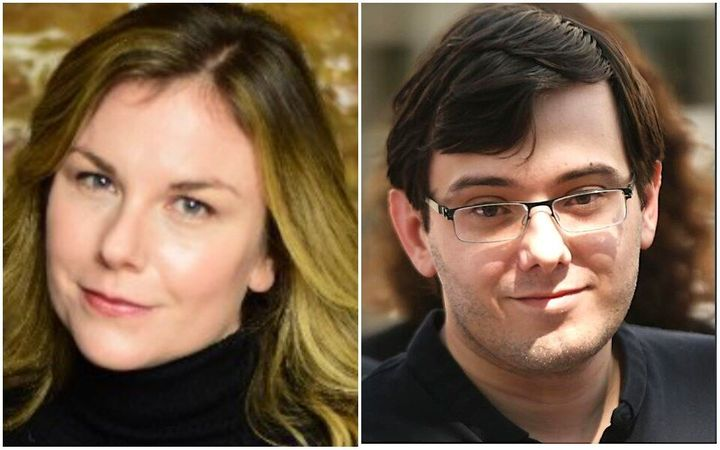 """Christie Smythe wrote of her relationship with Martin Shkreli:""""A woman can choose to do something with her life ("""
