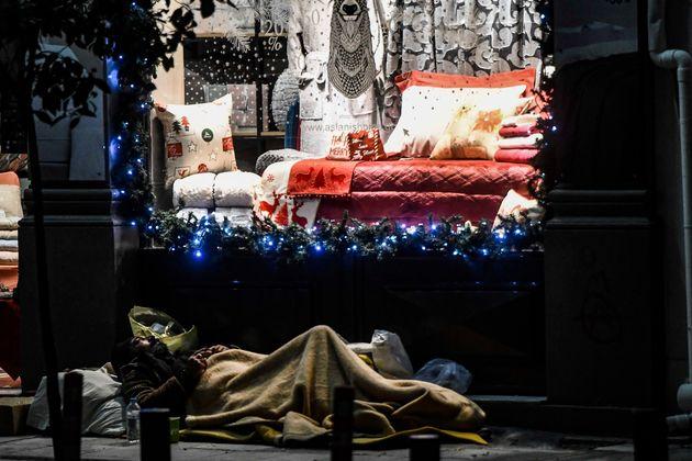 Αθήνα παραμονές Χριστουγέννων