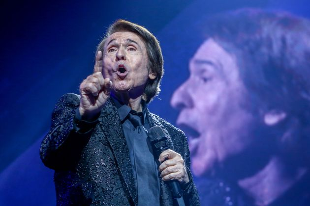 Raphael durante el concierto del viernes en Wizink Center de