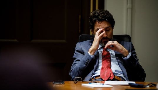Trudeau's Photographer Captures The 'Never Ending Year' That Was