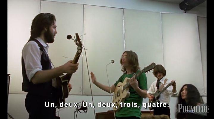 Extrait du documentaire: <em>The Beatles: Get Back</em>.