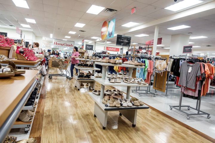 Discount stores such as TJ Maxx carry other companies' unsold inventory.