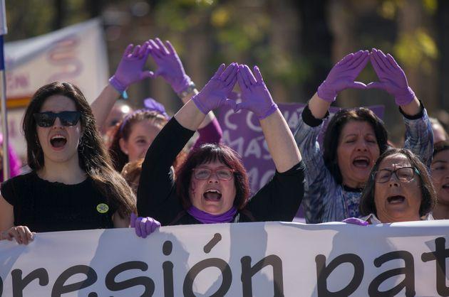 Manifestación feminista en