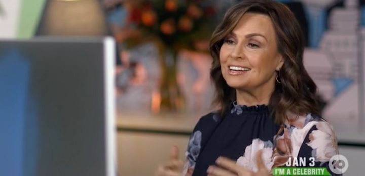 'The Project' host Lisa Wilkinson laughed off the awkward moment.