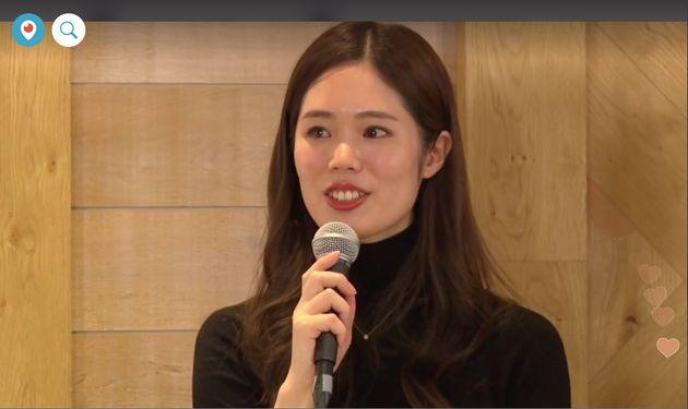 ルナルナ事業部の那須理紗副事業部長