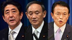 菅内閣の支持率が下落。安倍・麻生内閣と比べてみた。共通点は?