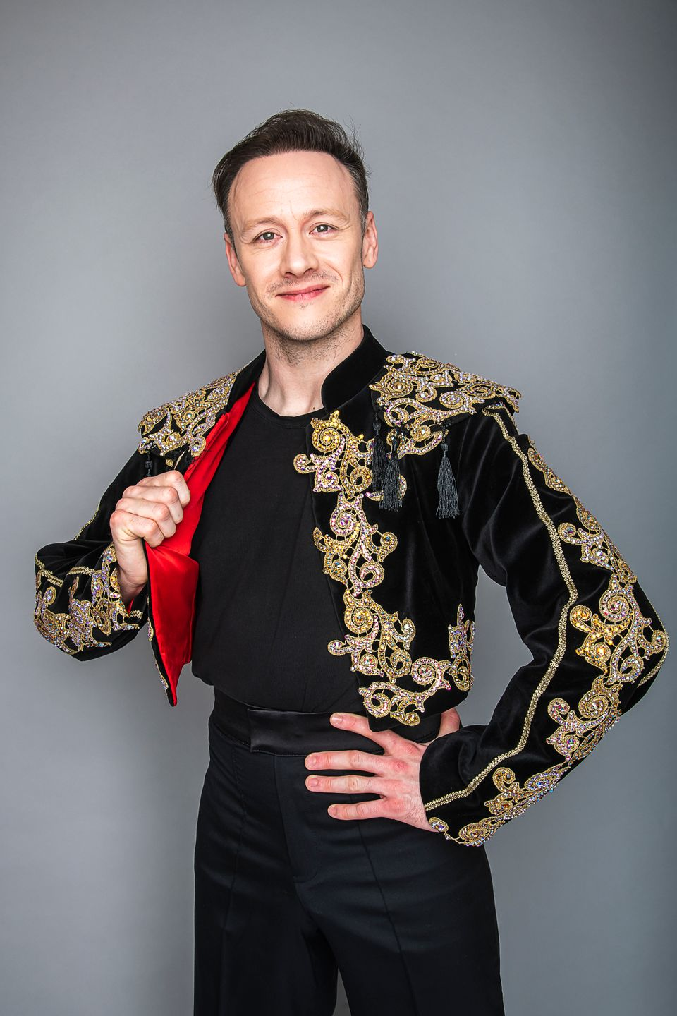 Kevin Clifton pictured earlier this year, after landing a part in Strictly