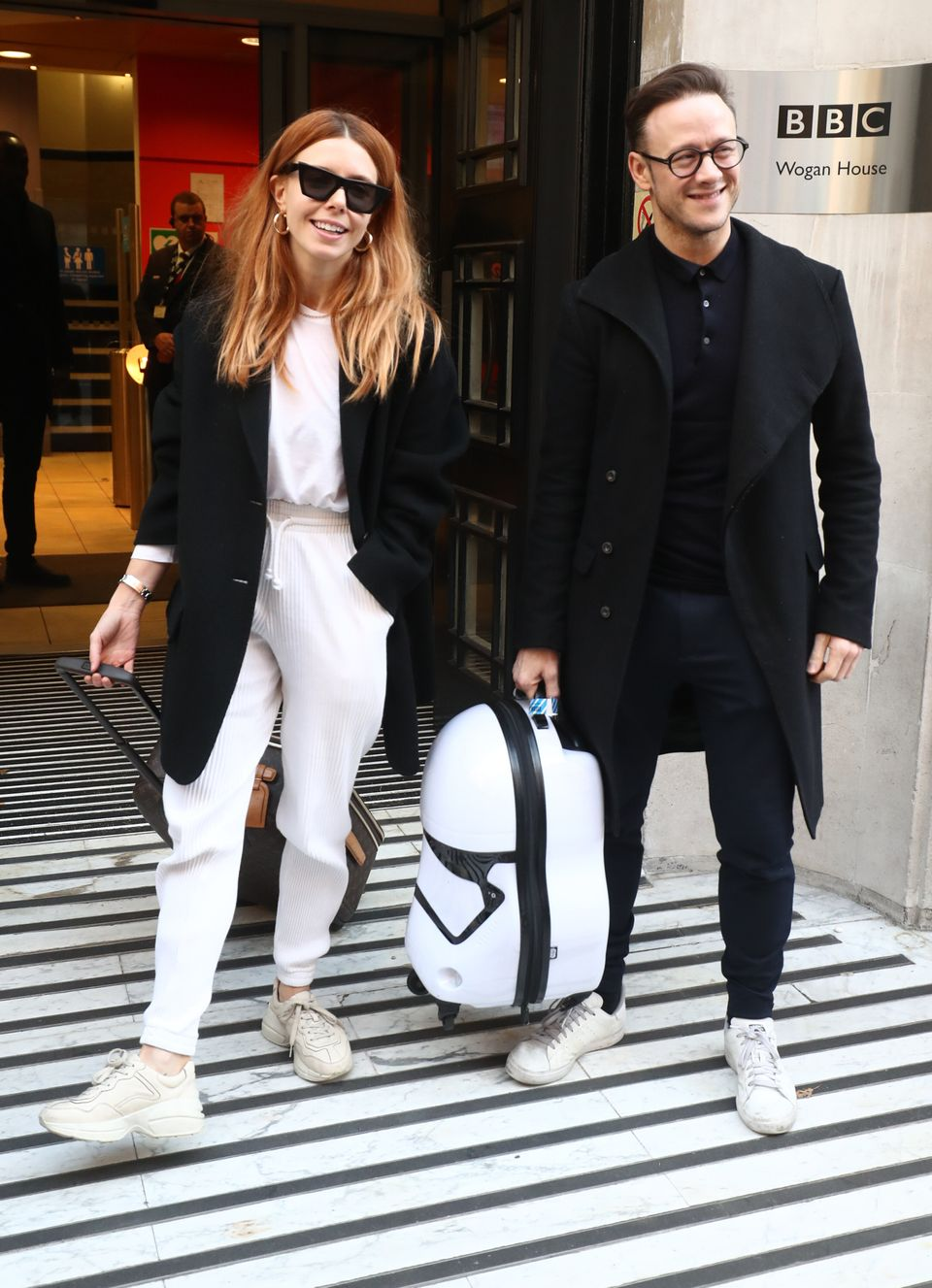 Stacey Dooley and Kevin Clifton pictured in