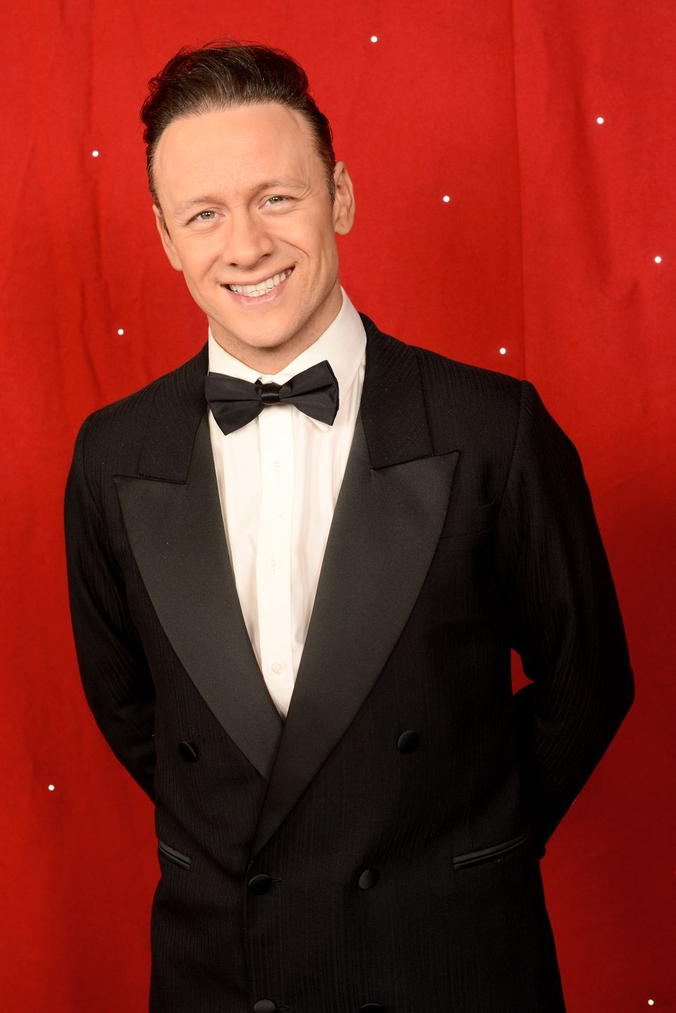 Kevin backstage at Strictly Come Dancing Live! in