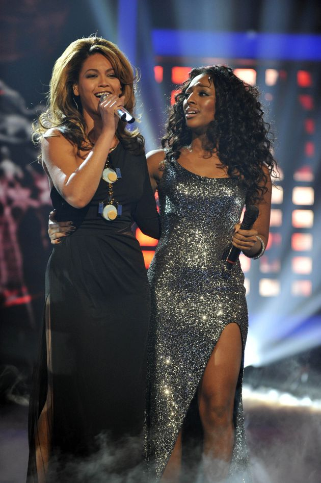 Beyoncé and Alexandra Burke duetted on The X Factor in