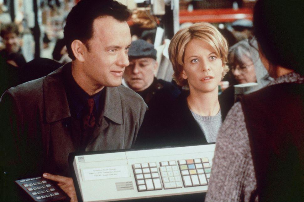 "Tom Hanks and Meg Ryan in ""You've Got Mail,"" released Dec. 18, 1998."