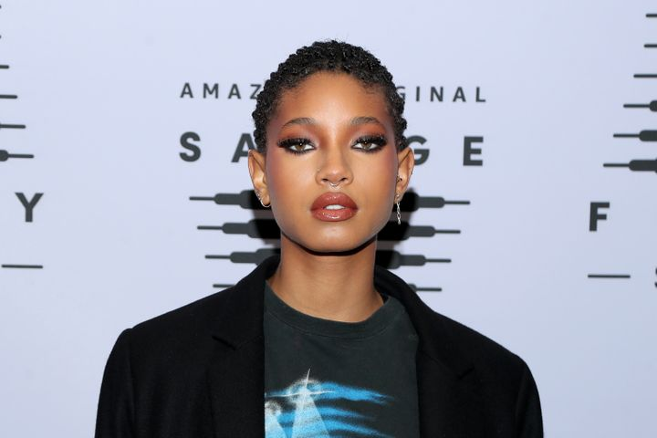 Willow Smith attends Rihanna's Savage X Fenty Show Vol. 2 on Oct. 2.