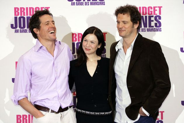 Hugh and Renée at the premiere of Bridget Jones: The Edge Of Reason with Colin
