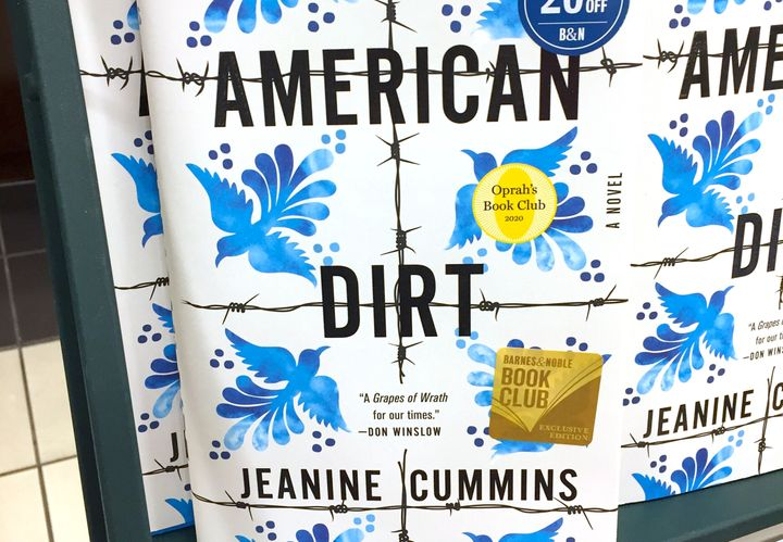 """American Dirt"" for sale in New York in January."