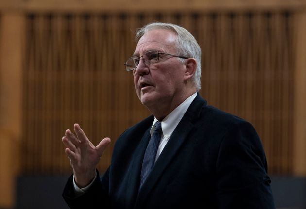 Public Safety and Emergency Preparedness Minister Bill Blair responds to a question during Question Period...