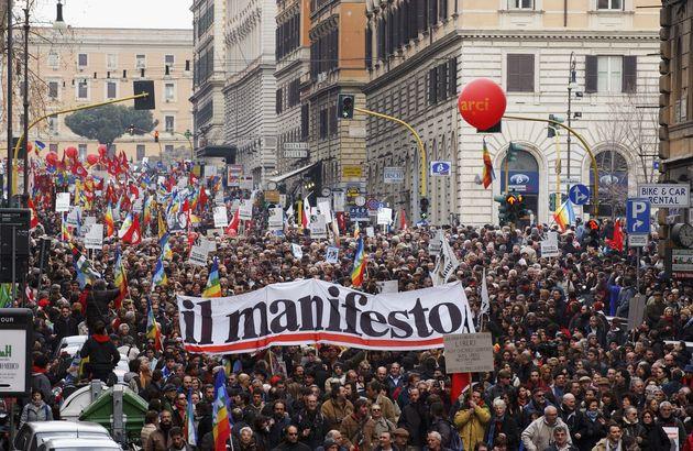 La battaglia del Manifesto.
