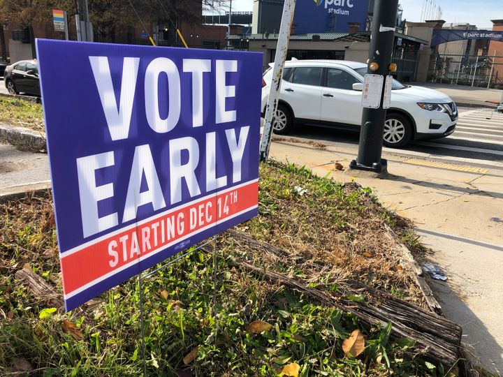 More than 1.4 million voters cast ballots during the first week of early voting for Georgia's Senate runoff elections. But in