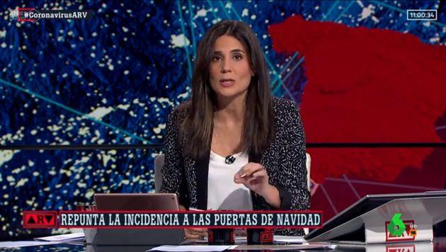 María Llapart en 'Al Rojo